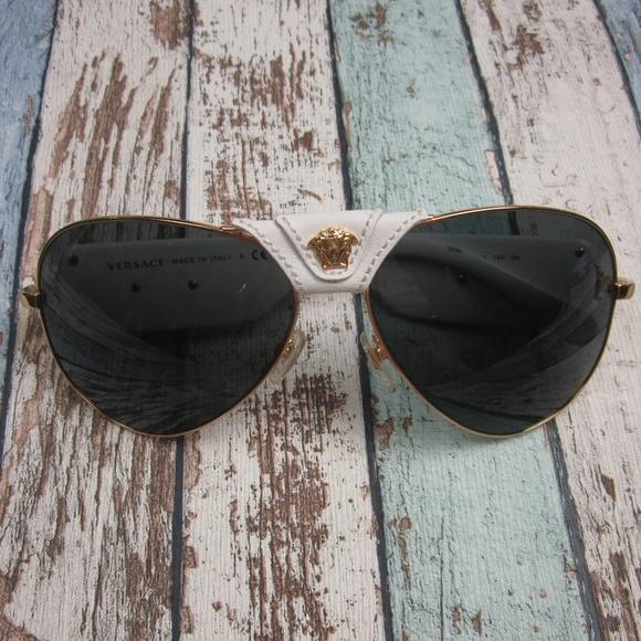 1b8a258a96 Versace 2150-Q Unisex Sunglasses Italy OLP426. M 5bbf6fde5c4452157910a8f3